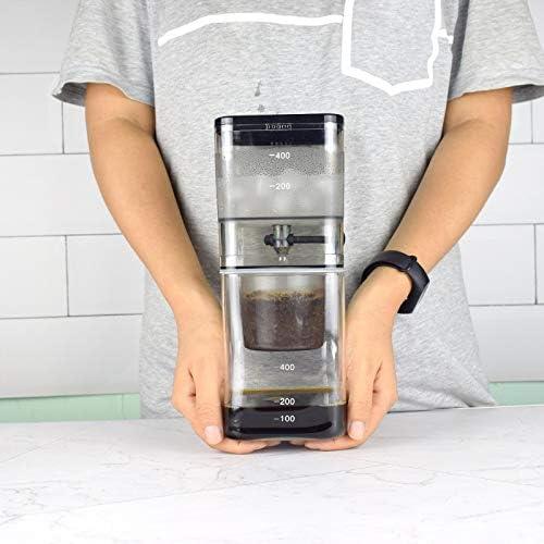 JIUYUE Cafetera Francesa El Agua de Goteo Cafetera de café Gotero ...