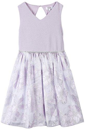 Speechless Big Girls' V-Neck Party Dress, Lavender, (Tween Easter Dresses)
