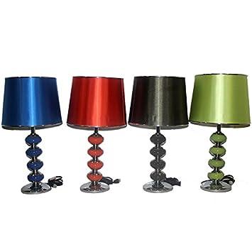 Amazon.com: 12 x 12 x 20,8 En lámpara de mesa de cerámica ...