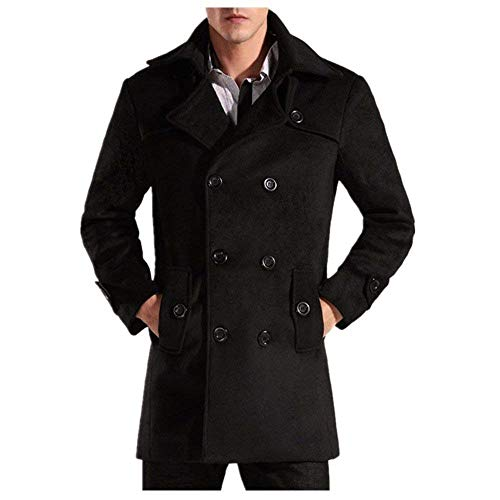Coat Windparka Jacket Fashion Trenchcoat Outerwear Windbreaker Warm Apparel Jacket Wool Black Outwear Gray Quilted Schwarz Jacket Windbreaker Windbreaker Parka Mens R7vqEE