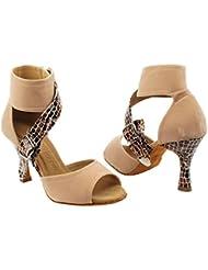 Gold Pigeon Shoes Party Party SERA7015 Comfort High Top Evening Dress Pump, Wedding Shoes: Women Ballroom Dance...