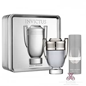 Paco rabanne invictus 2 piece gift set for - Coffret parfum invictus pas cher ...