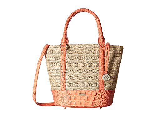 Brahmin Women's Mantle Small Bowie Satchel Poppy One Size ()