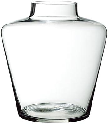 """SilksAreForever 12"""" Tapered Cylinder Glass Vase -Clear"""