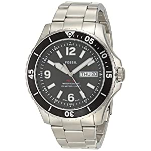Fossil Analog Black Dial Men's Watch-FS5687