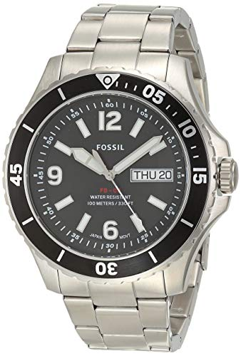Fossil Men's FB-02 Stainless Steel Casual Quartz Watch