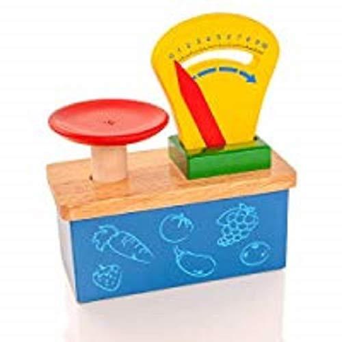 Viga Wooden Weighing Scale - Childrens Pretend Play Kitchen Toy VG59691