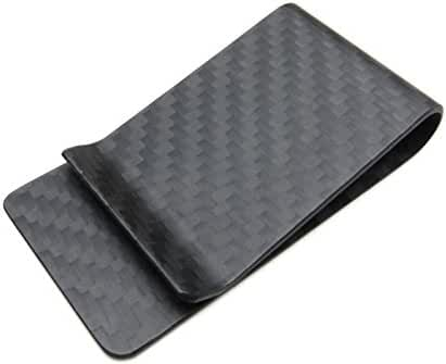Carbon Fiber Money Clip - Genuine 3K Weave - Fits Up To 15 Cards Strong and Lightweight