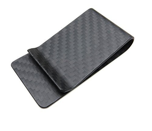 (Carbon Fiber Money Clip - Black)