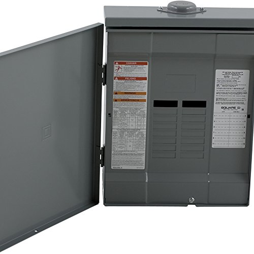 Square D by Schneider Electric QO11224L125GRB QO 125 Amp 12-Space 24-Circuit Outdoor Main Lug Load Center with Ground Bar, , (Square D Qo Load Center Cover compare prices)