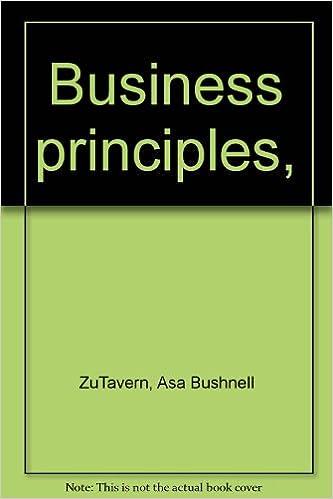 Business principles,