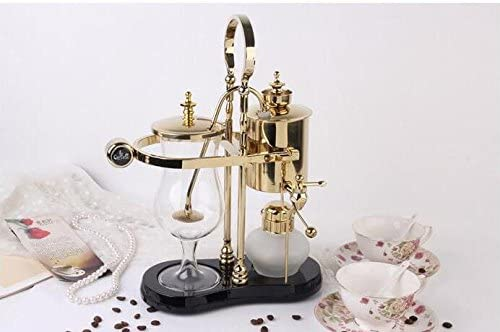 Máquina belga real del café de la balanza de Siphon para el hogar ...