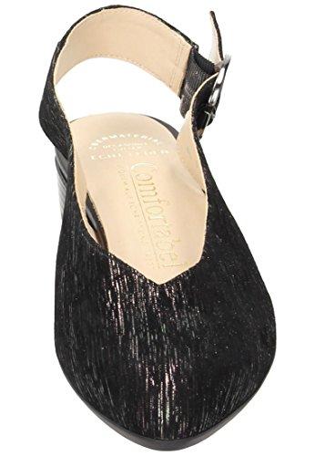 Femme 5 4 Escarpins Comfortabel Uk Noir Pour B6HqExnw1E