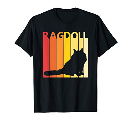 Retro Ragdoll T-shirt Cat Breed Owner Gift]()