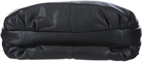 Bodenschatz Savona 4-252 SV 01, Damen Umhängetaschen, Schwarz (black), 36x28x8 cm (B x H x T) Schwarz (Black)