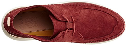 Clarks Herren Pitman Free Low-Top Braun (BRICK)