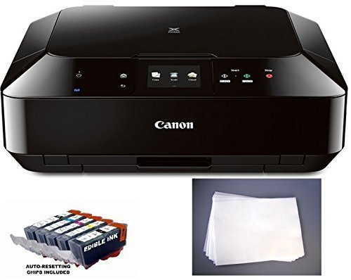 Edible Printer Bundle- Canon MG5520 with Edible Inks and Frosting Sheets