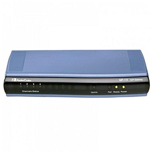 Audiocodes MP114/2S/2O/SIP MP-114 2 FXS 2 FXO ATA Gateway