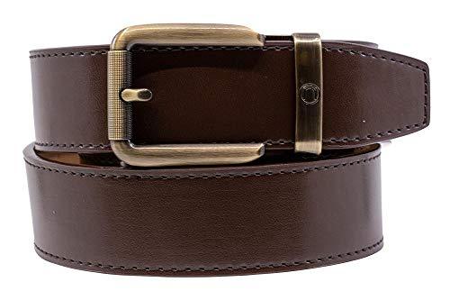 2019 Rogue Black Leather Dress Belt for Men with Adjustable Ratchet Buckle - Nexbelt Ratchet System Technology (Espresso)