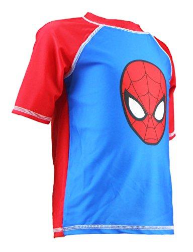 Marvel Toddlers Spider Man Rash Guard 2T