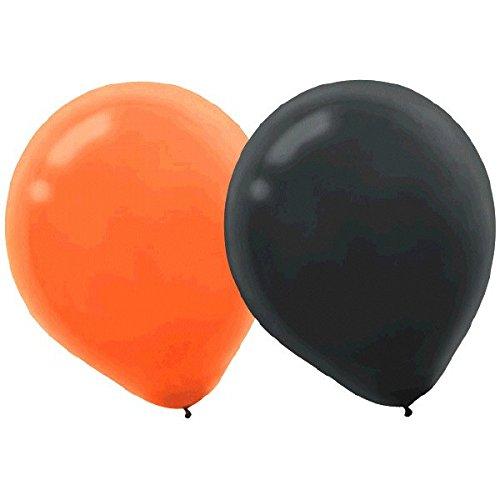 Orange & Black Latex Balloons for $<!--$4.99-->
