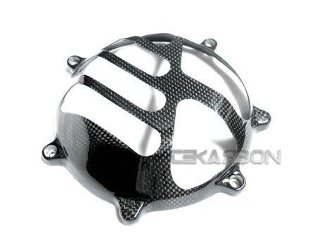 Ducati tapa del embrague en seco de fibra de carbono V26 - se adapta a todos los modelo: Amazon.es: Coche y moto