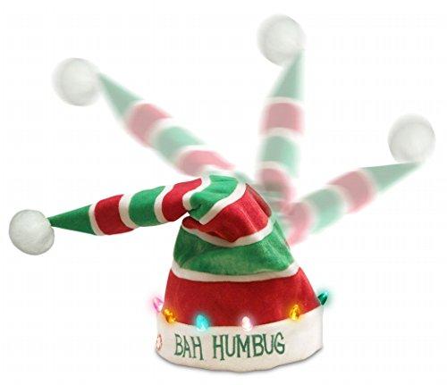 PBC International G5029 18 in. Bah Humbug Dancing Hat