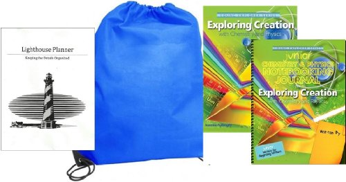 Exploring Creation with Chemistry and Physics w/ JUNIOR Notebooking Journal homeschool kit in a bag Elementary Physics Kit