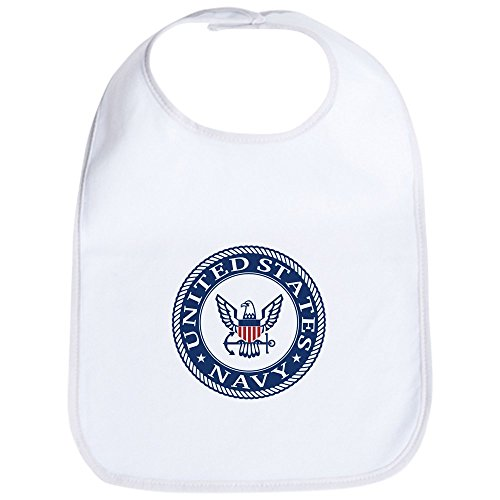 - CafePress - US Navy Symbol - Cute Cloth Baby Bib, Toddler Bib