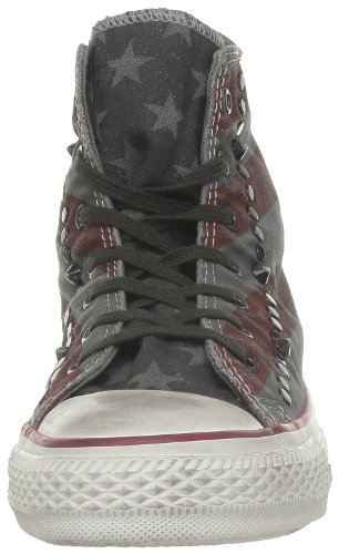 Converse Ct Prem Wash Hi 286680-55-123 Damen Sneaker Grau (Anthracite/Bordeaux)