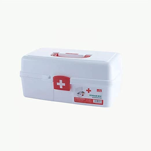 FKYGDQ Caja médica portátil, botiquín de medicamentos para el ...