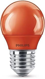 Philips bombilla LED E27, 3.1 W, roja