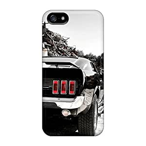 Slim Fit Protector Shock Absorbent Bumper Ford Mustang For Iphone 5C Phone Case Cover
