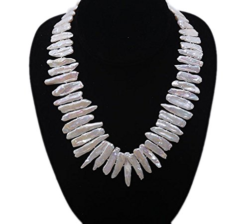 26 Inch Cultured Pearl Necklace - 4