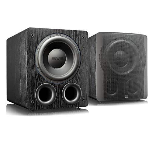 SVS PB-3000 13-inch Subwoofer with 800W RMS, 2,500W Peak Power, and DSP Control App - (Pair) Premium Black Ash