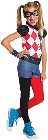 Rubie's Costume Kids DC Superhero Girls Harley Quinn Costume, Me