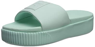 7725edd3113e Amazon.com  PUMA Women s Platform Slide Sandal  Shoes