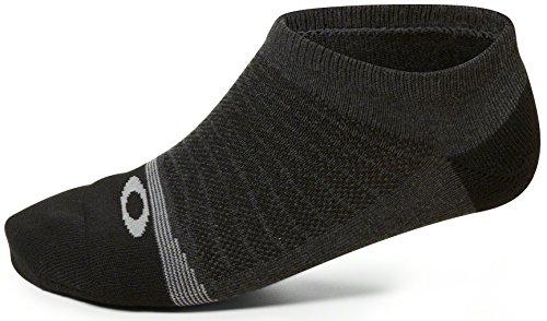 Oakley Womens Lightweight High Performance 2 Pack Socks One Size Jet - Shoes Womens Oakley