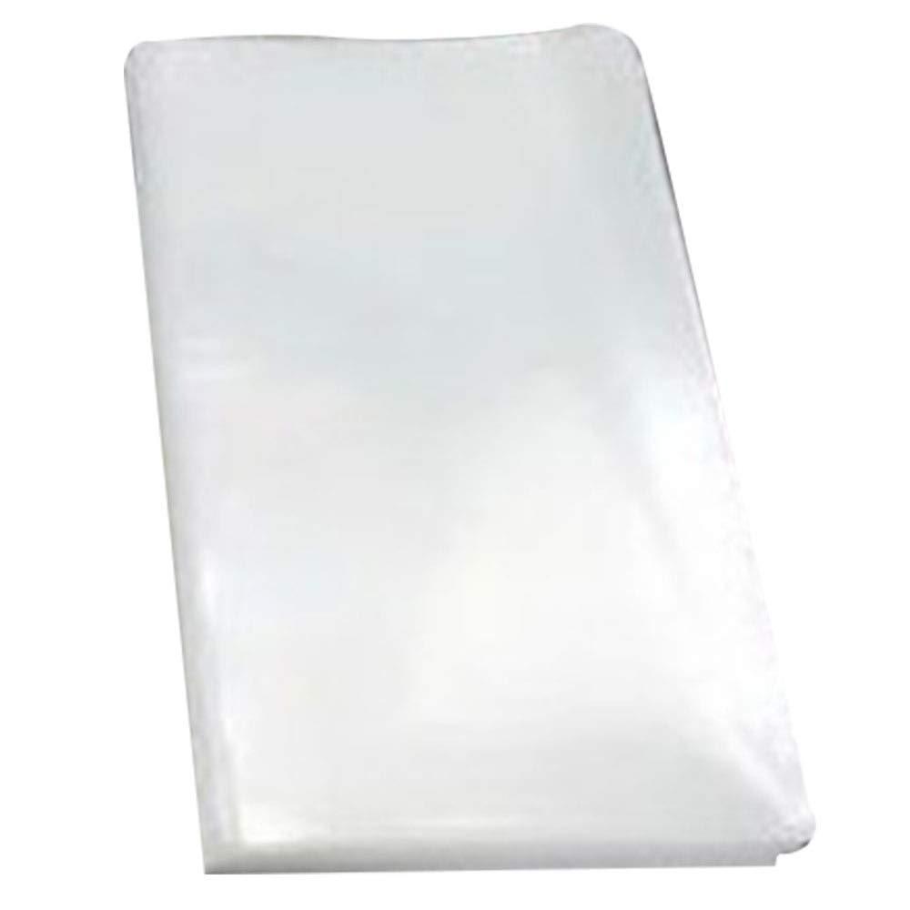 Refaxi Bolsas de papel Kraft transparente de 100 piezas para dulces, galletas, rosquillas, manualidades, fiesta (7 * 10 cm)