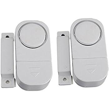 Doorwindow Entry Alarm With Magnetic Sensor Pack Of 2 Household