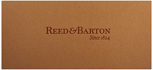 Reed & Barton Easton Flatware Chest, 15-Inch x 11-Inch x 5.5-Inch, Mahogany