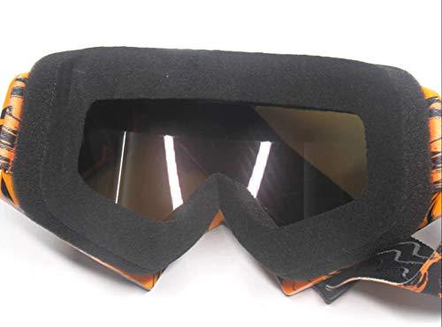 Motocross Enduro MTB Ski Snowboard Schutzbrille Iridium Glas verspiegelt