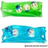 6 Four Inch Eyeball Water Wigglers/Sensory Toys/Halloween