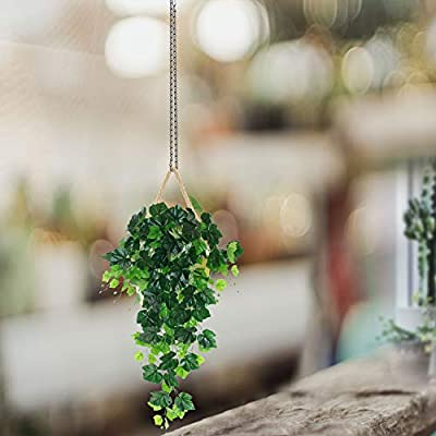 4 Pack 35 Inches Decorative Hanging Chains Black Hook Chains Mental Chain Hanger for Bird Feeders,Planters,Lanterns,Wind Chimes,Billboards, Chalkboards and More: Garden & Outdoor