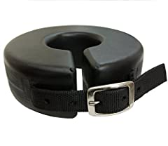 Shoe Boil Boot Prevents back of the elbow sores. Mold durable plastic with adjustable buckle closure on one inch web strap.