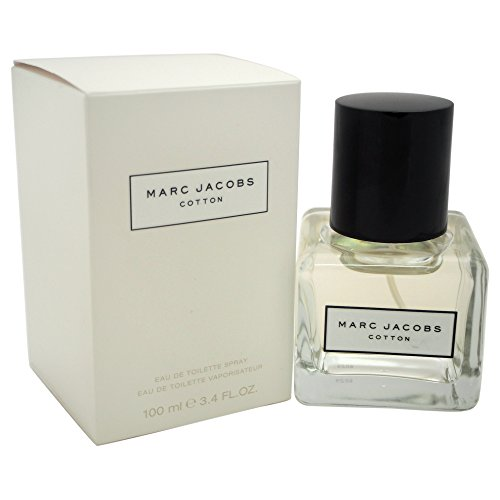 Price comparison product image Marc Jacobs Cotton EDT Spray for Women,  3.4 Ounce