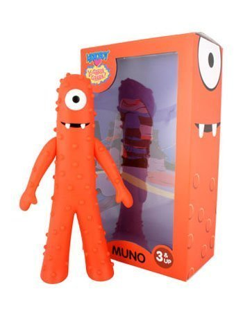 Exclusive Kidrobot Collectible Vinyl Figure -! Yo Gabba Gabba - MUNO