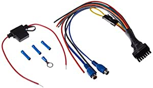 bazooka bta8100fhc wire harness display bazooka bt1014 wire harness amazon.com: bazooka elahpawk wiring harness: automotive