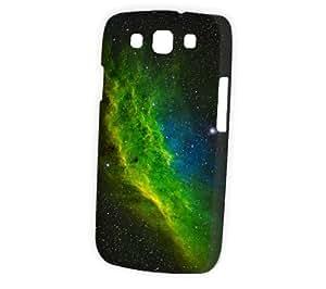 Case Fun Samsung Galaxy S3 (I9300) Case - Vogue Version - 3D Full Wrap - California Green Nebula