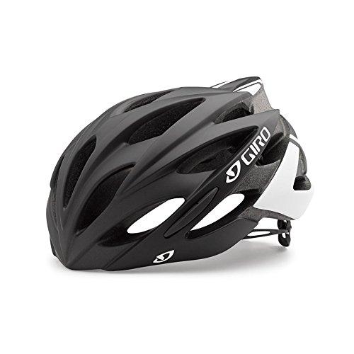 Giro Savant Road Bike Helmet, Matte Black/White, Large